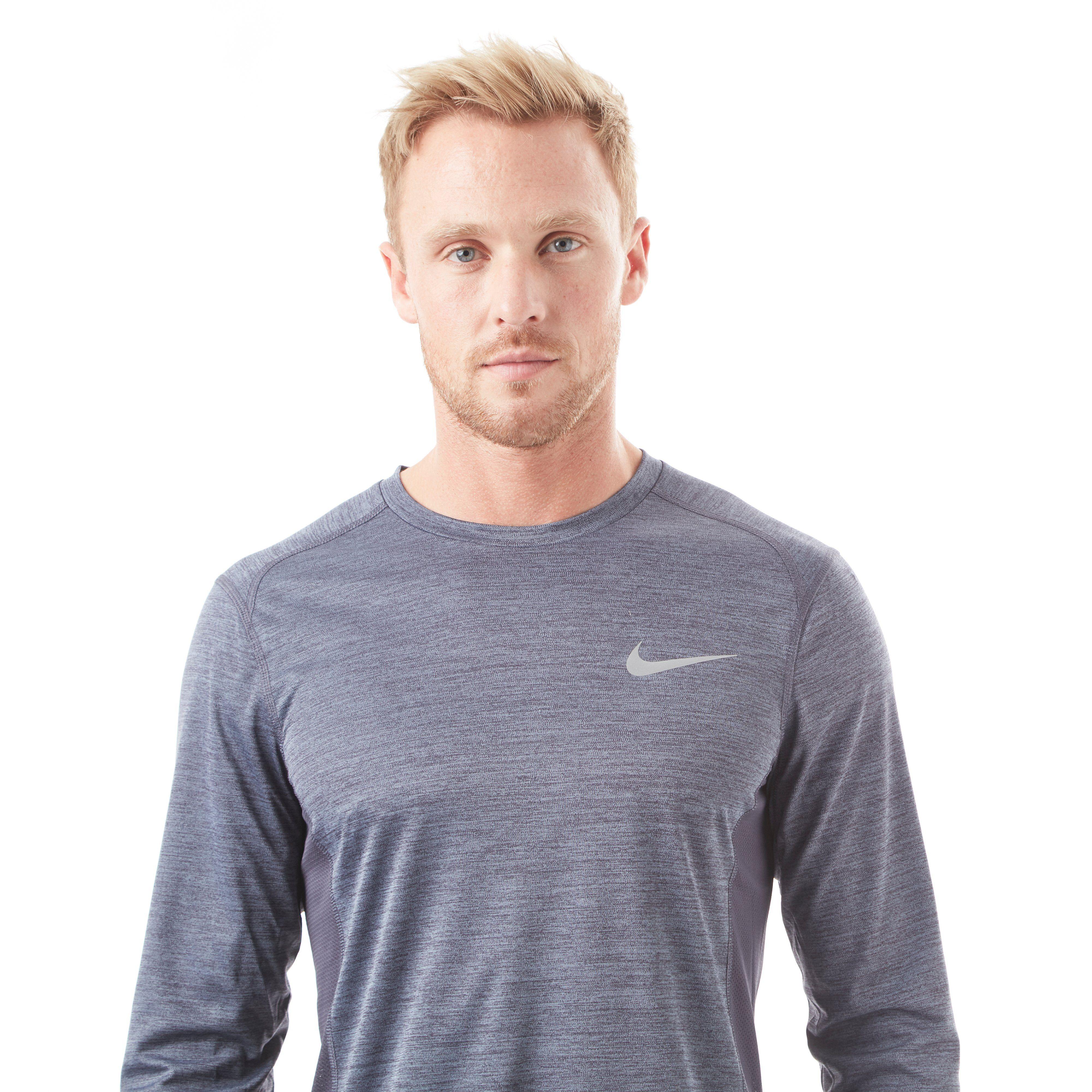 Nike Miler Long Sleeve Men's Training Top