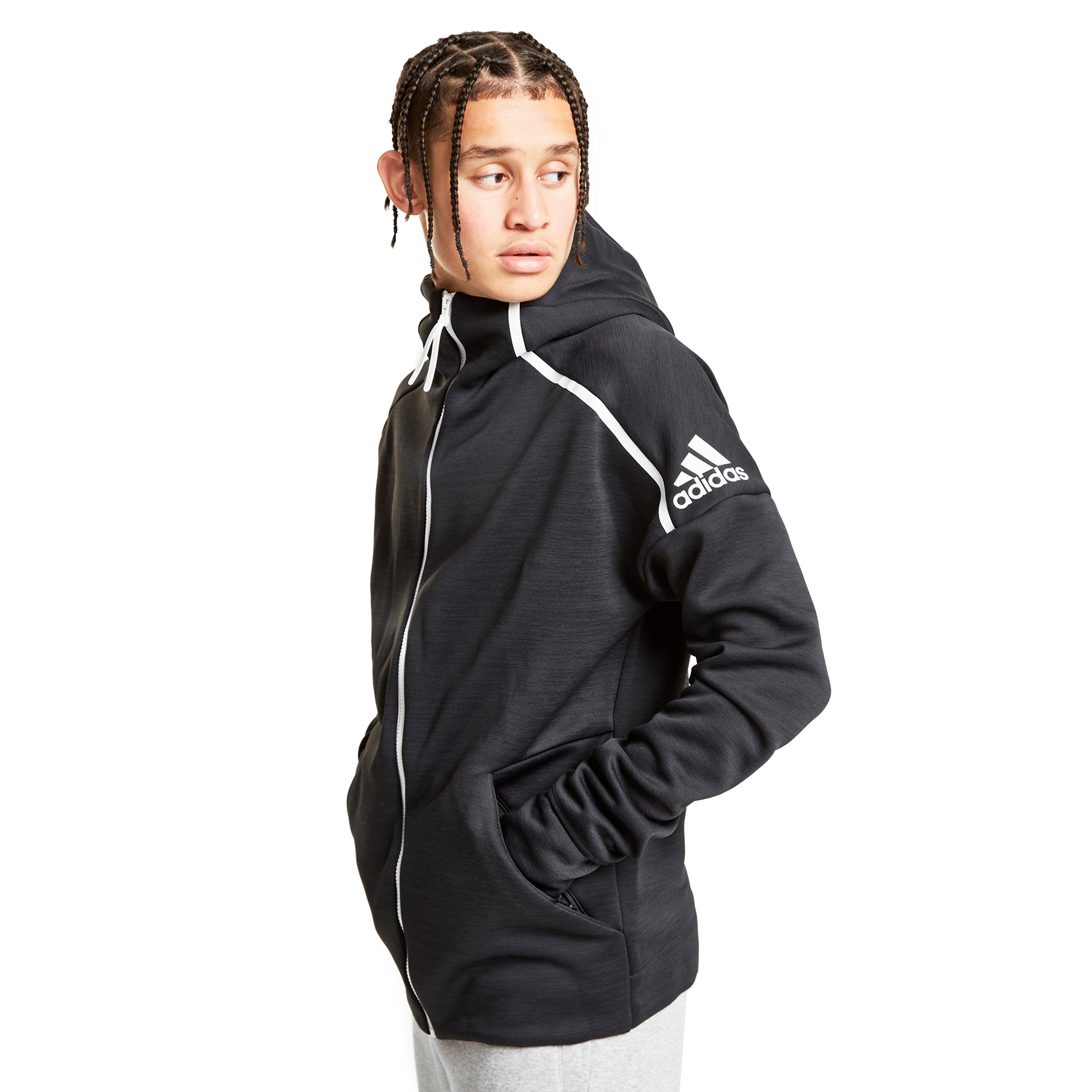 Details about adidas Z.N.E Men s Tennis Hooded Jacket 75a783ddce
