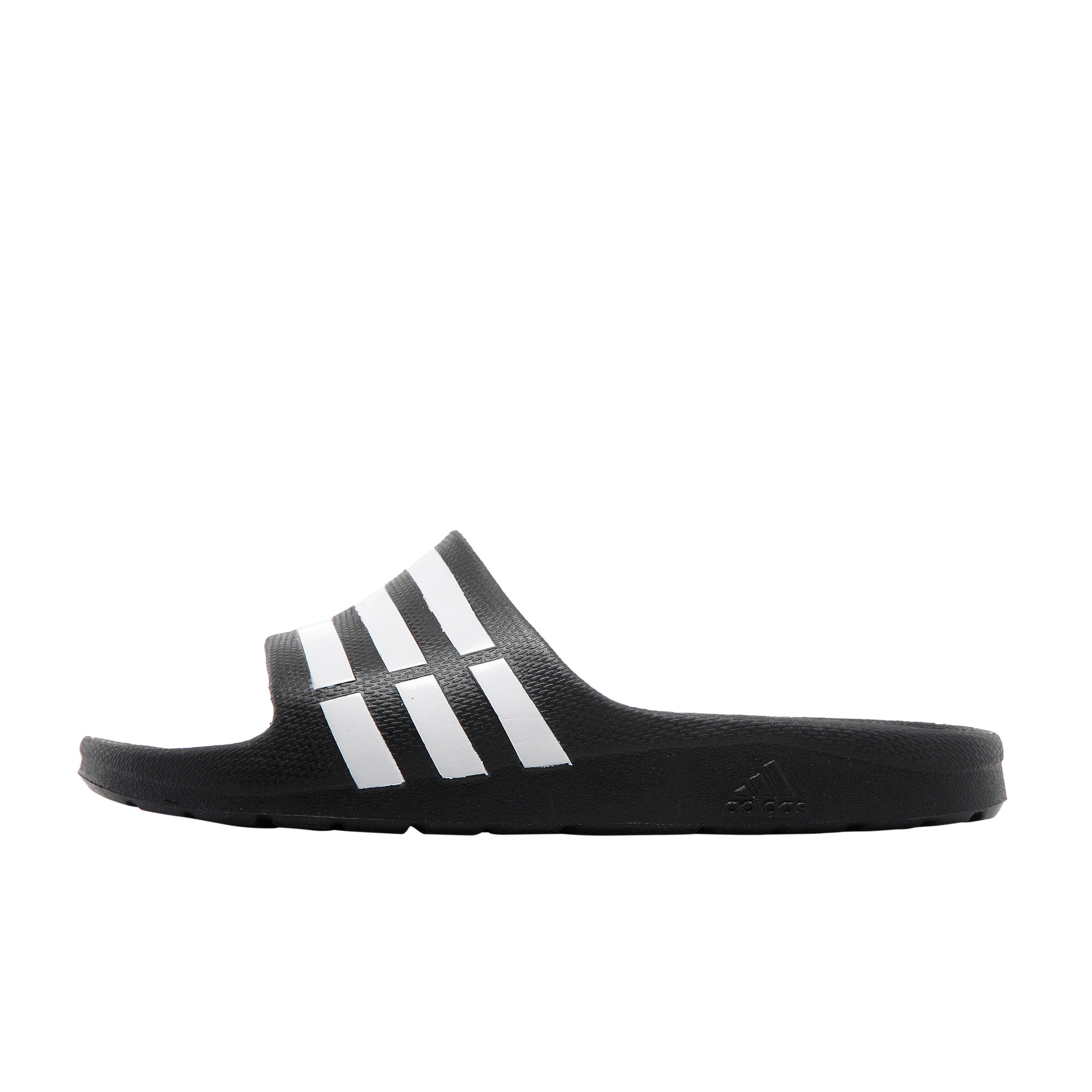 7d99d8ae760 Details about New adidas Duramo Slide Junior Sandals Slippers Flip Flops