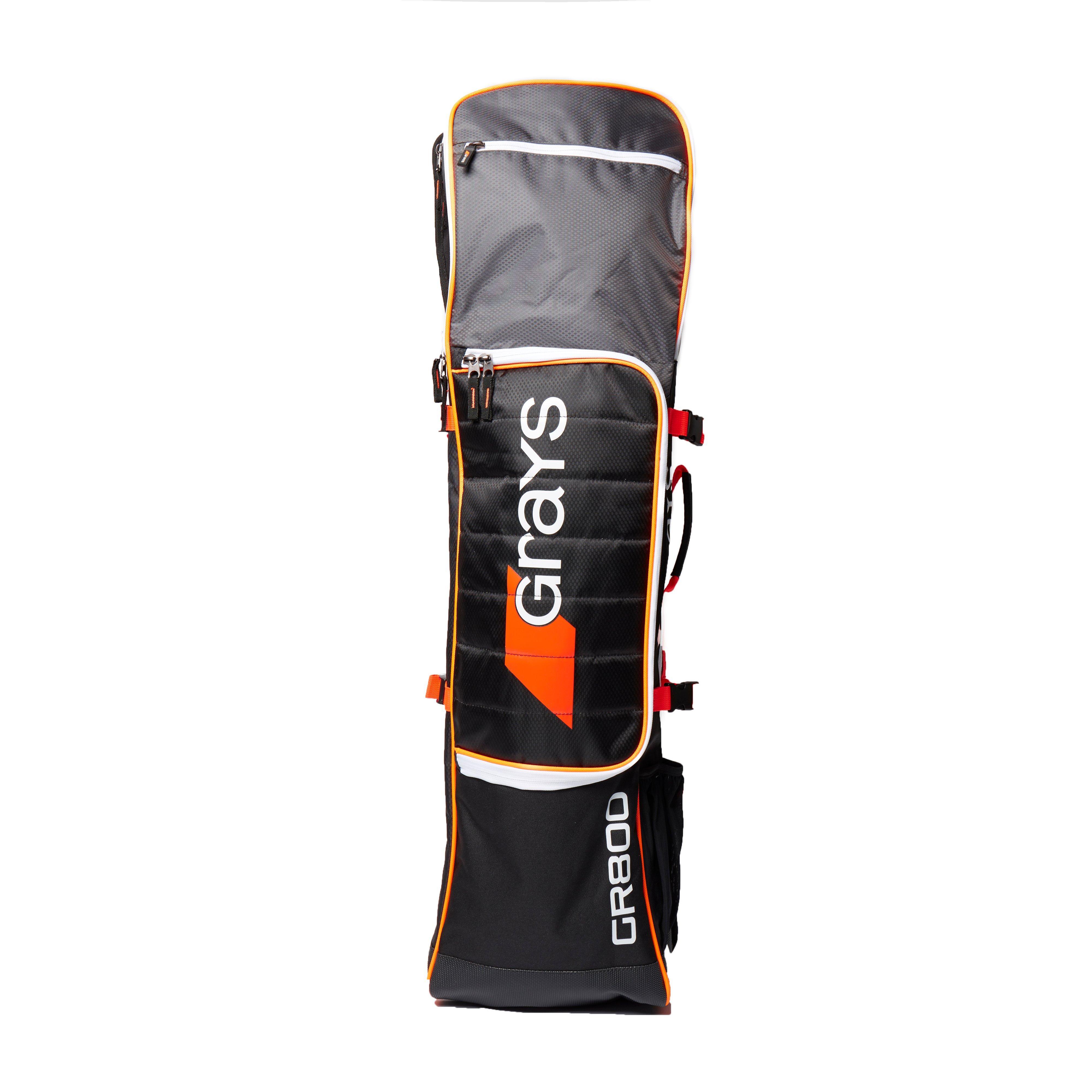 d0112c6a2d Details about New Grays Gr800 Stick Bag Hockey Equipment Training Sports  Kit Bag Black