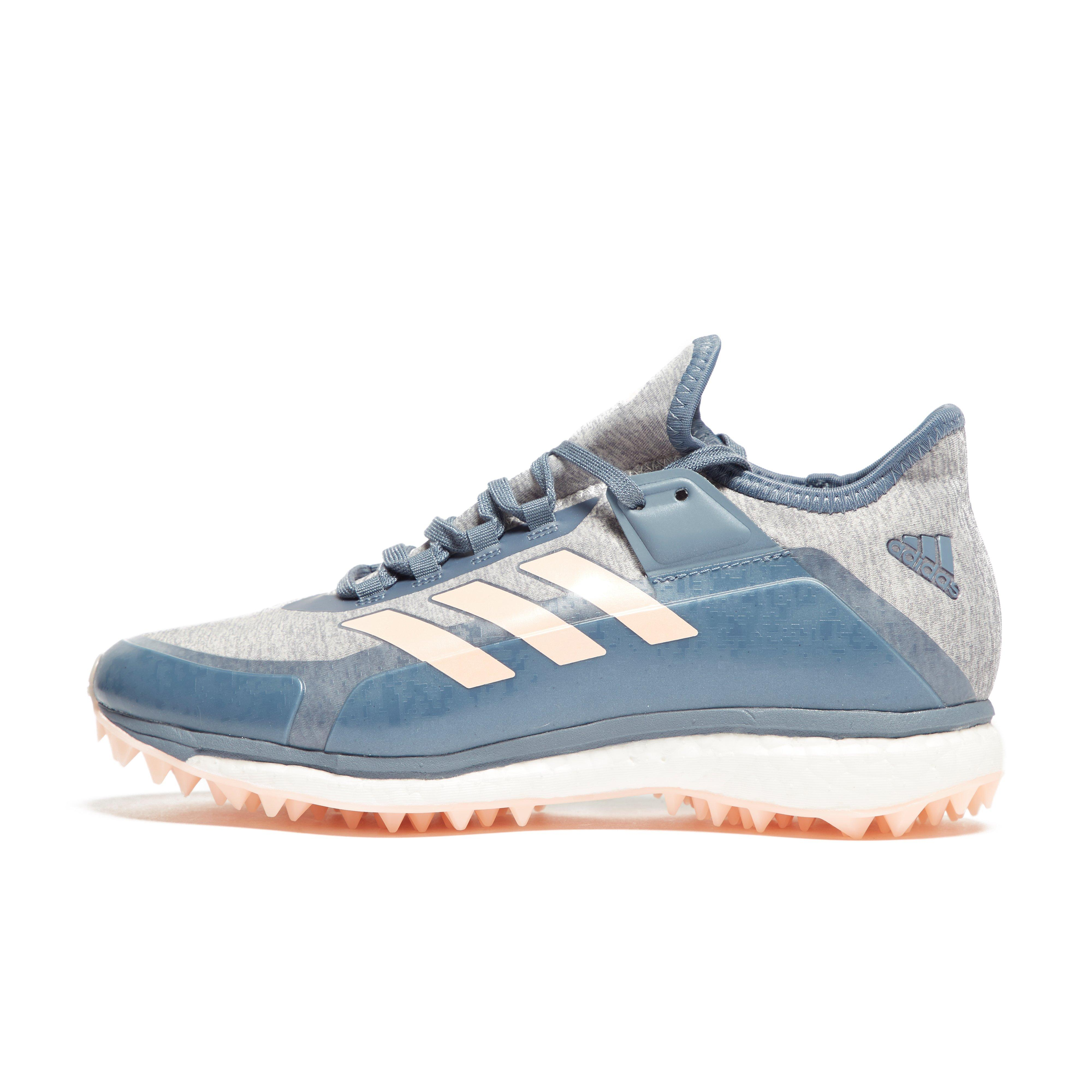 on sale 490e5 ccbe7 Details about New Adidas Fabela X Women S Field Hockey Trainers Sportswear  Shoes