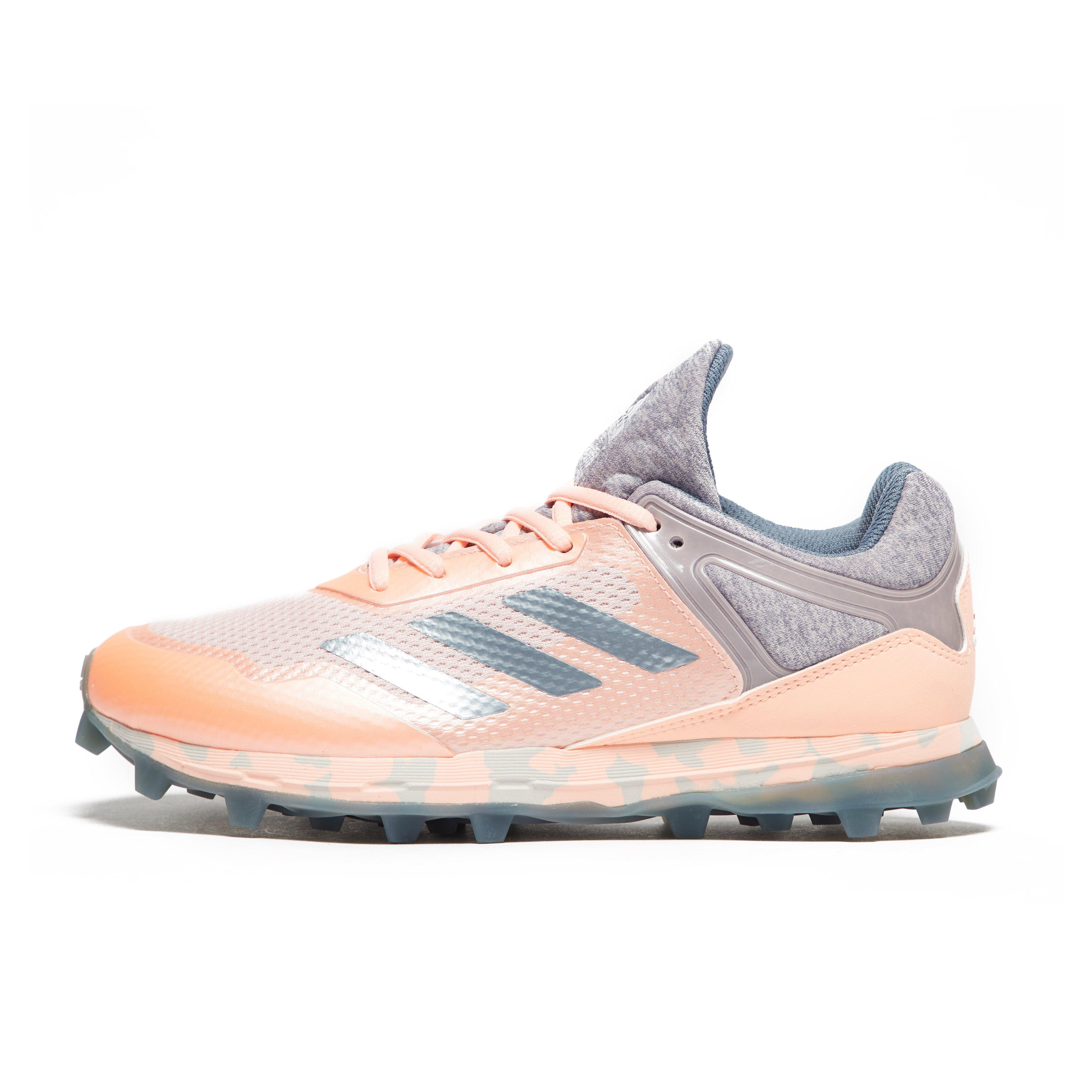 super popular a7f0c e086b Details about New Adidas Fabela Zone Hockey Court Sports Shoes Trainers Pink