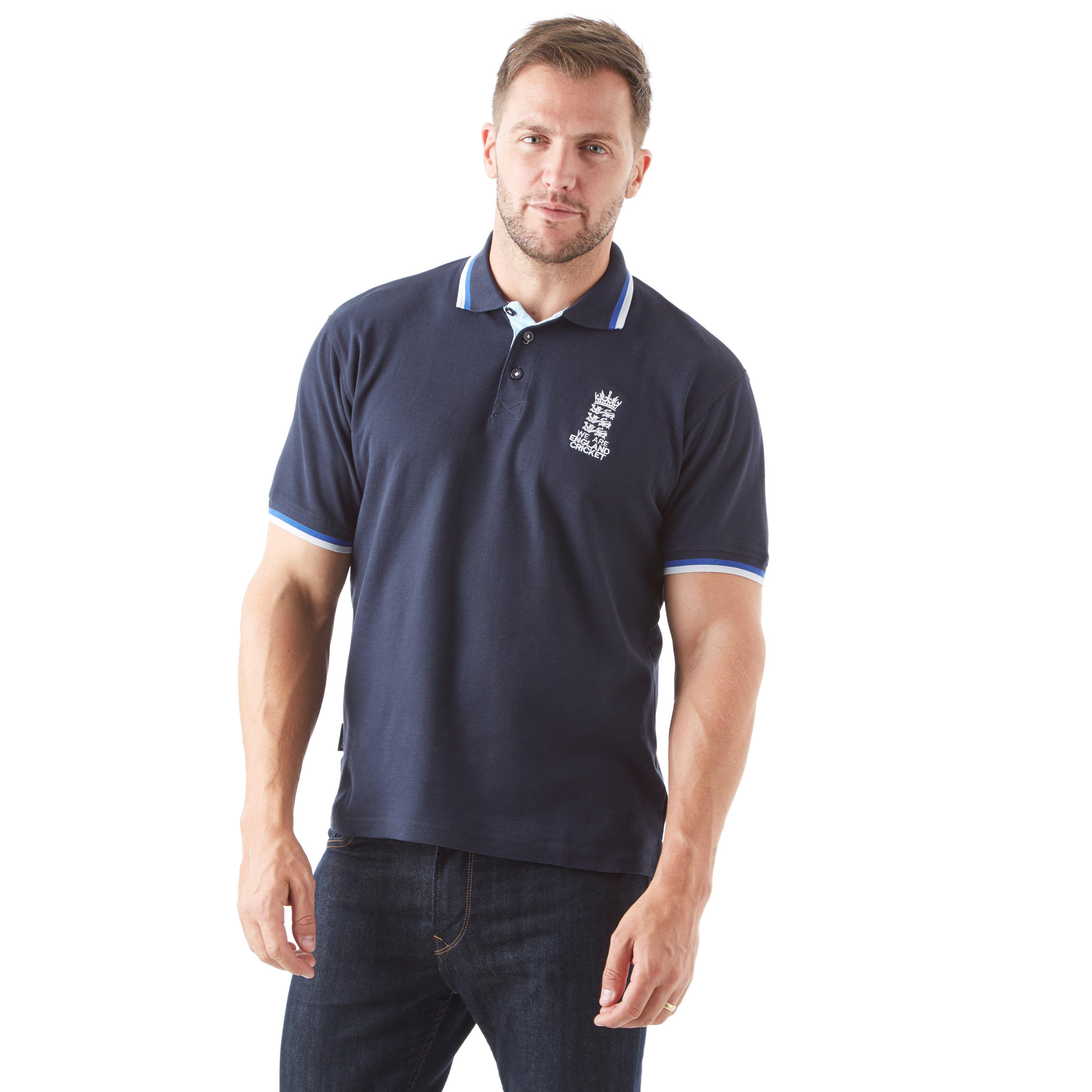 Brandco England Cricket Pique Men's Cricket Polo Shirt