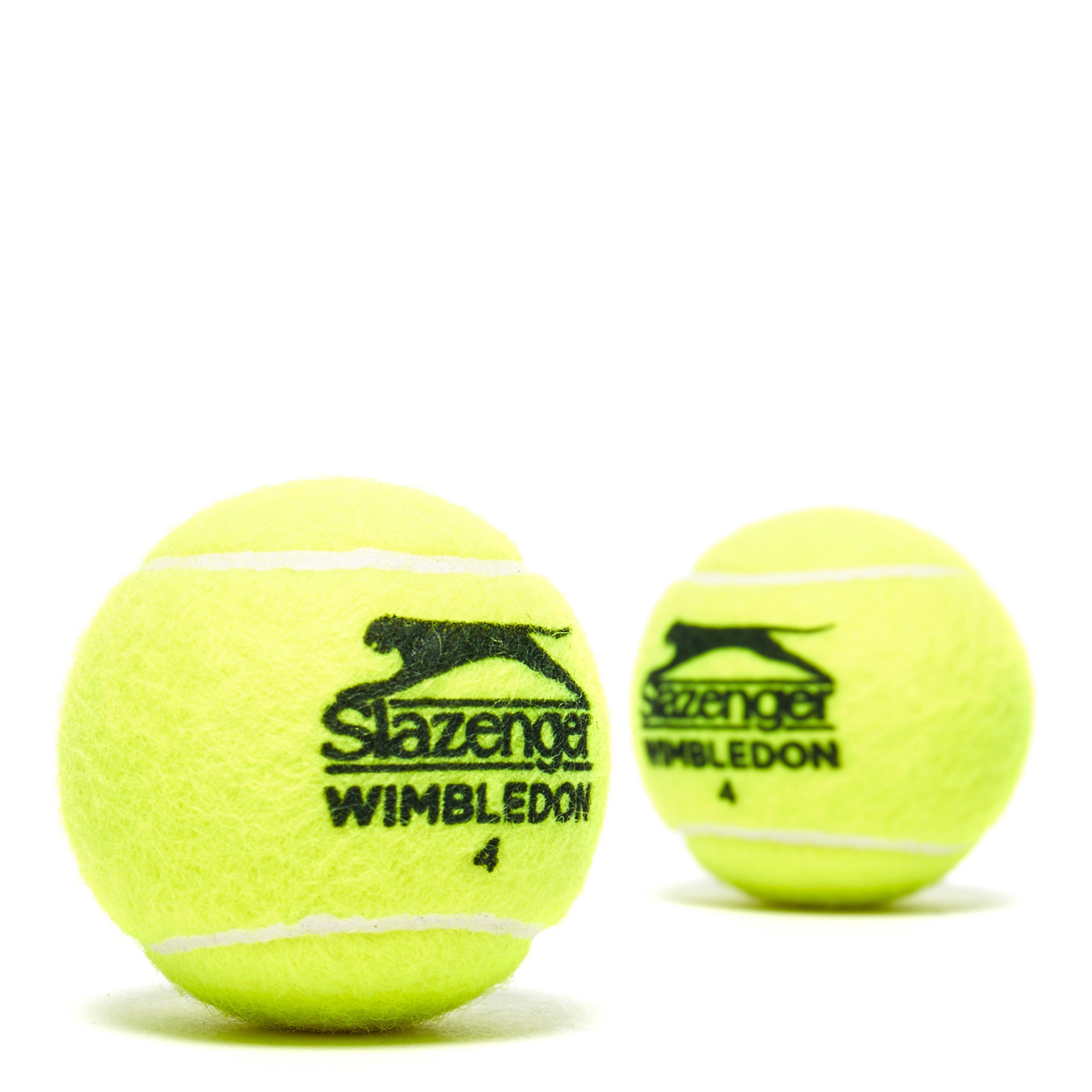Slazenger Wimbledon 2018 Tennis Balls (4 Ball Can)