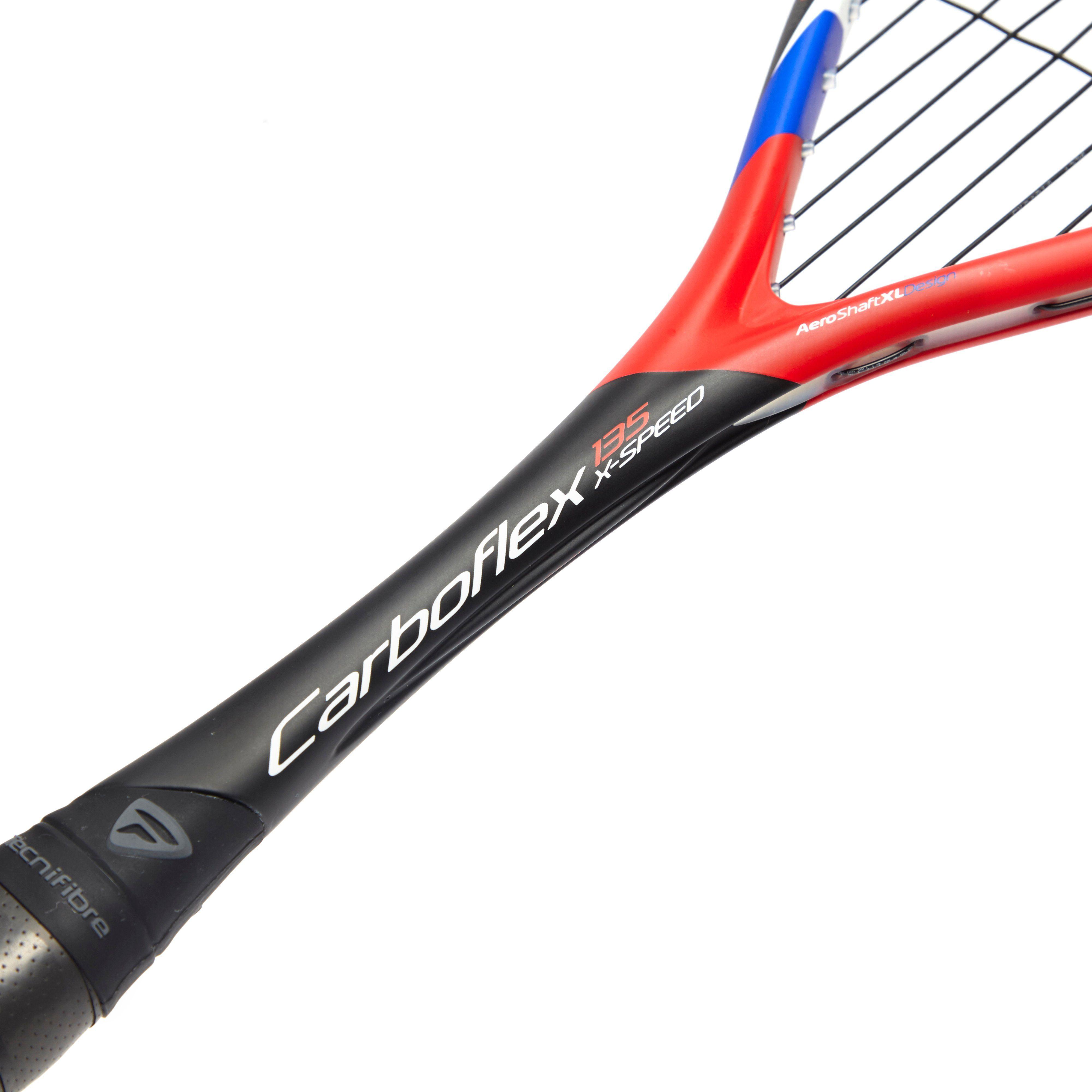 Tecnifibre Carboflex 135 X-Speed Squash Racket