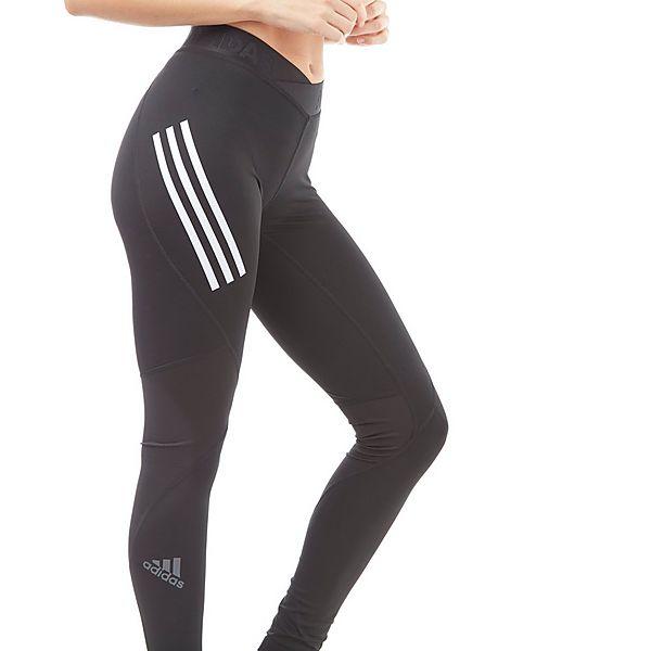b1373849f0270 adidas Alphaskin Sport 3-Stripes Women's Long Training Tights ...