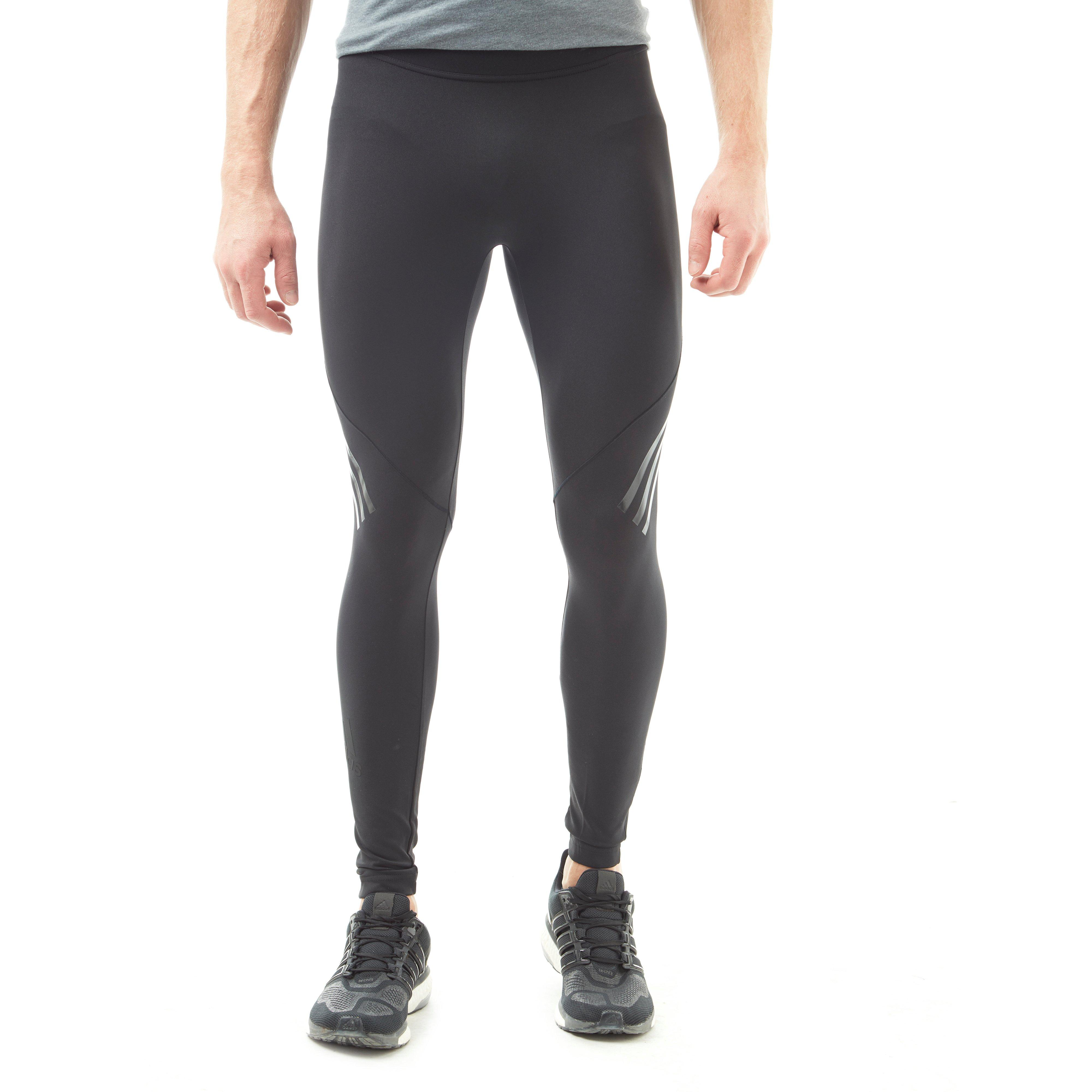 47099b2672db8 Details about adidas Alphaskin Tech 3-Stripes Men's Long Training Tights
