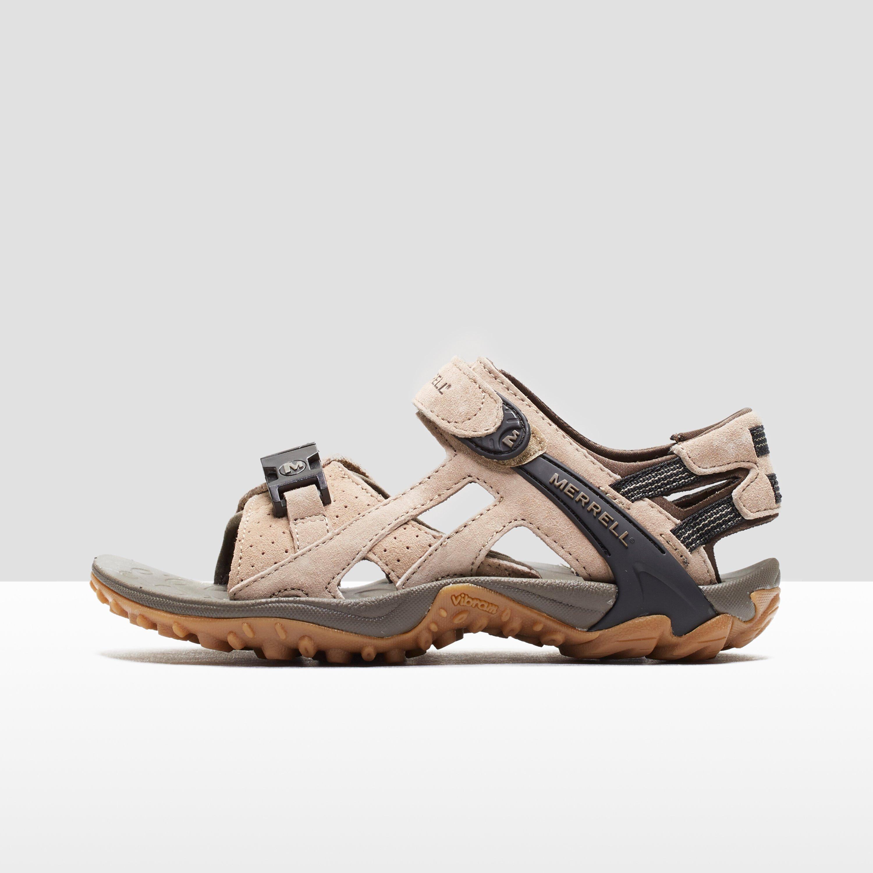 525058be670b Details about Merrell Kahuna III Women s Walking Sandals Taupe