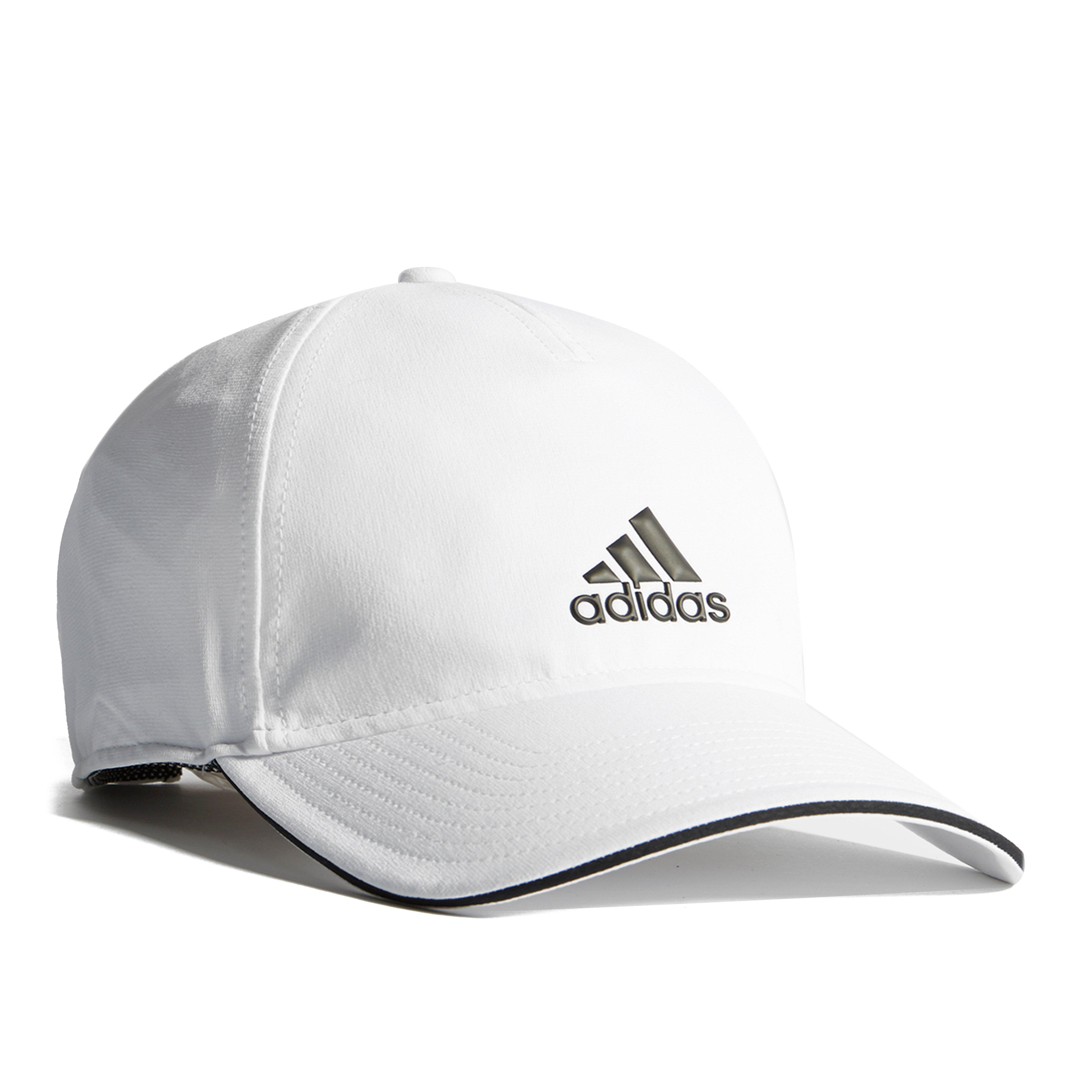 new arrival e4dc2 e9a80 Details about New adidas C40 5P Comfortable Casual Climalite Cap White