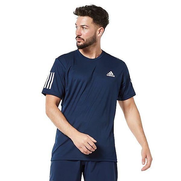 adidas 3-Stripes Club Men's Tennis T-Shirt