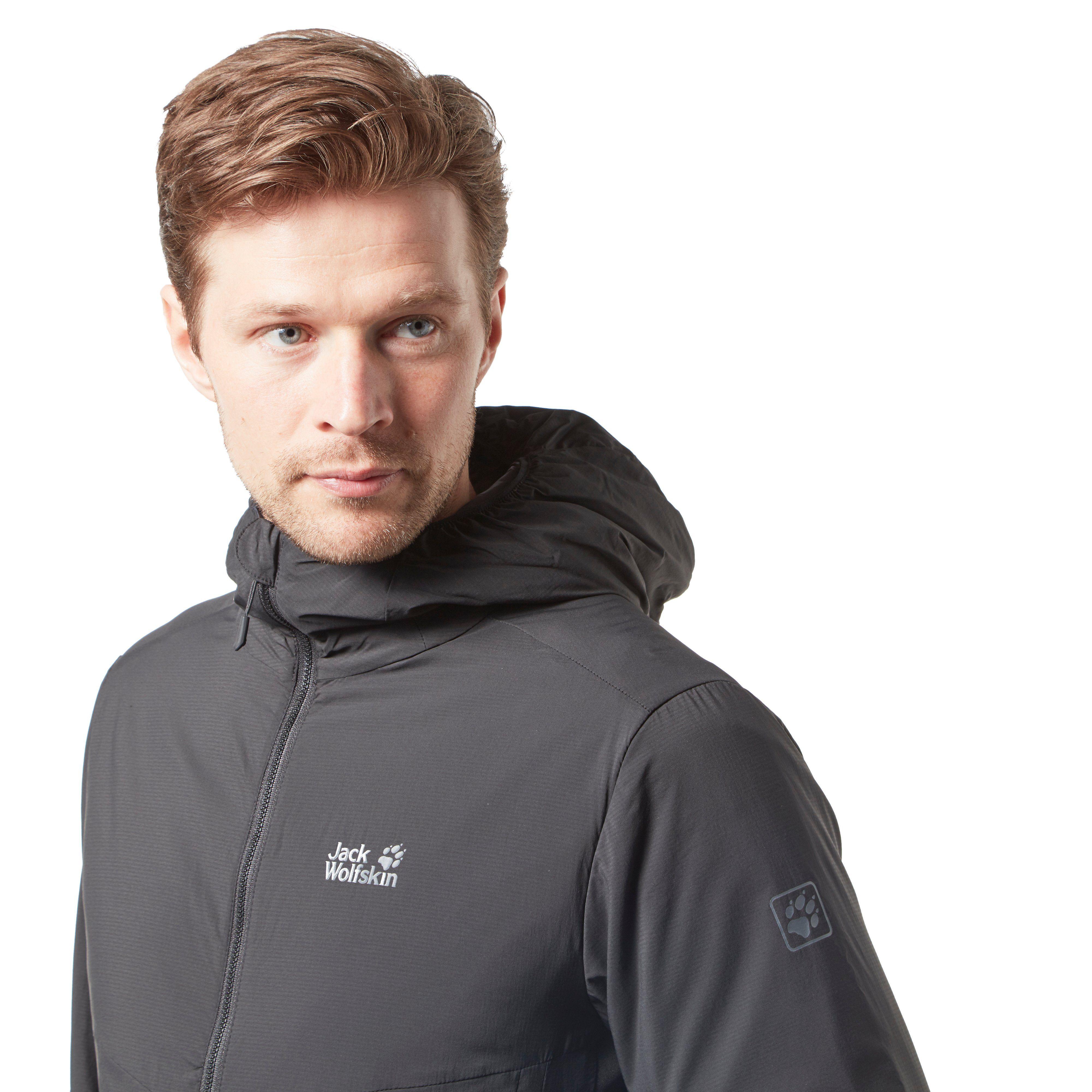 Jack Wolfskin Zip Through Lightweight Men's Jacket