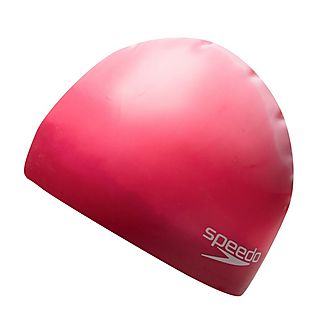 Speedo Multi Colour Moulded Silicone Adult Swimming Cap