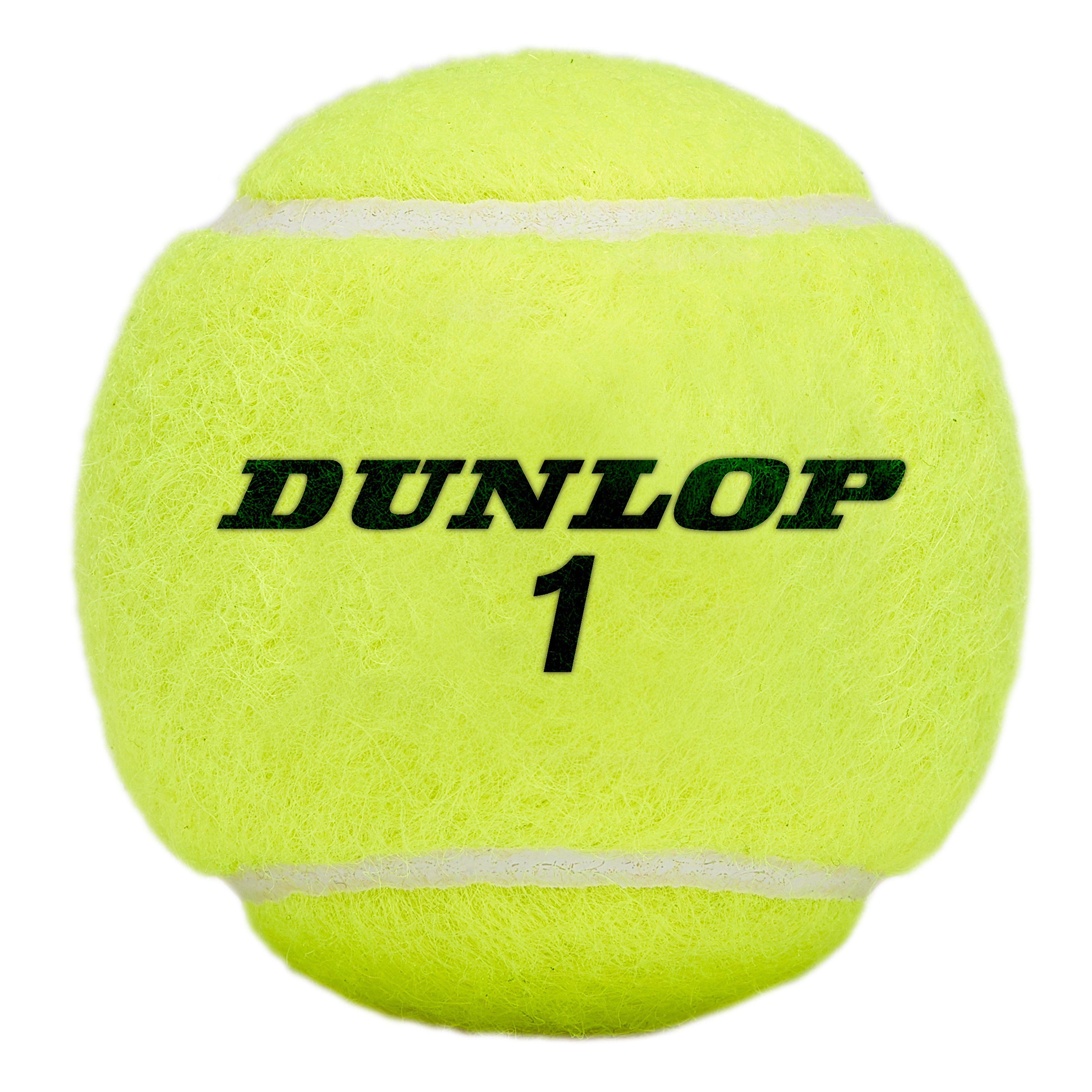 Dunlop Australian Open Tennis Balls (4 Ball Can)