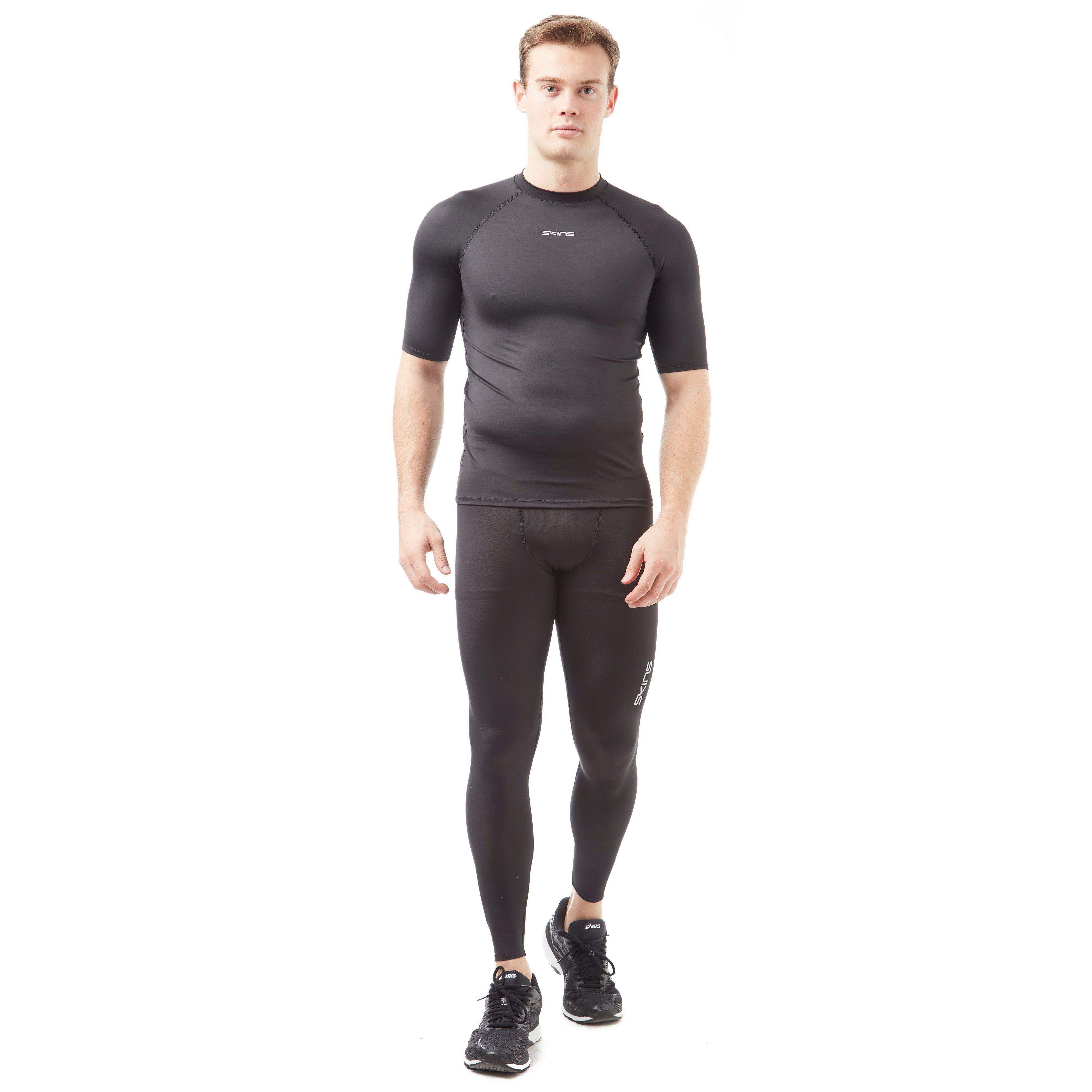 Skins DNAMIC FORCE Short Sleeve Men's Compression Top