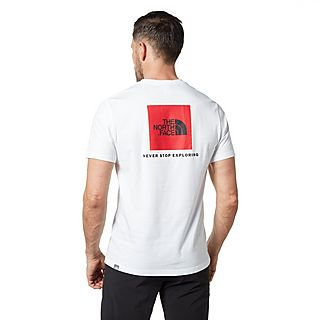 The North Face Raglan Red Box Men's T-Shirt