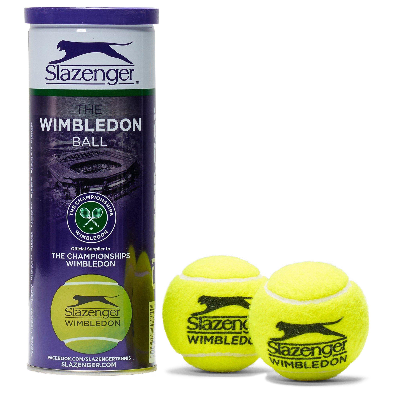 Slazenger Wimbledon Tennis Balls (3 Ball Can)
