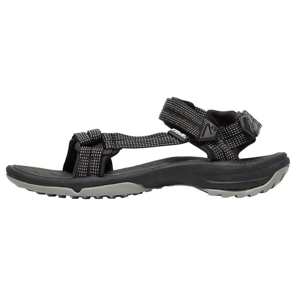 ffdc48d1b38 New Teva Terra Fi Lite City Women s Sandals Slide On Velcro Strap Black