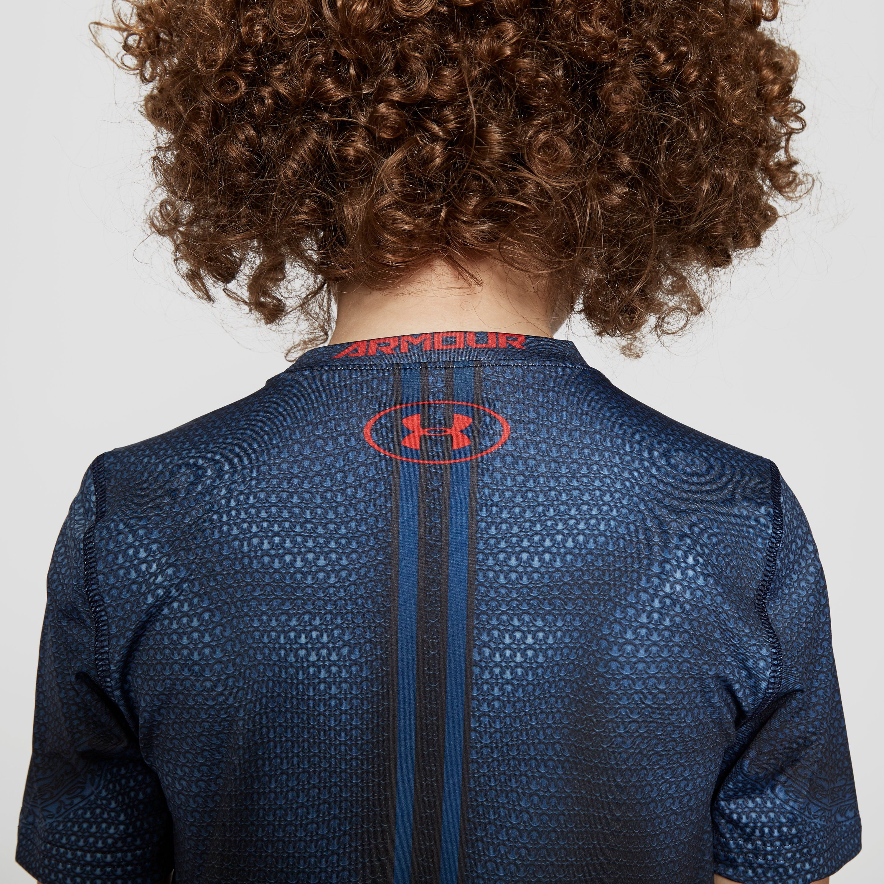 Under Armour Transform Yourself Superman Fitted Junior Shirt