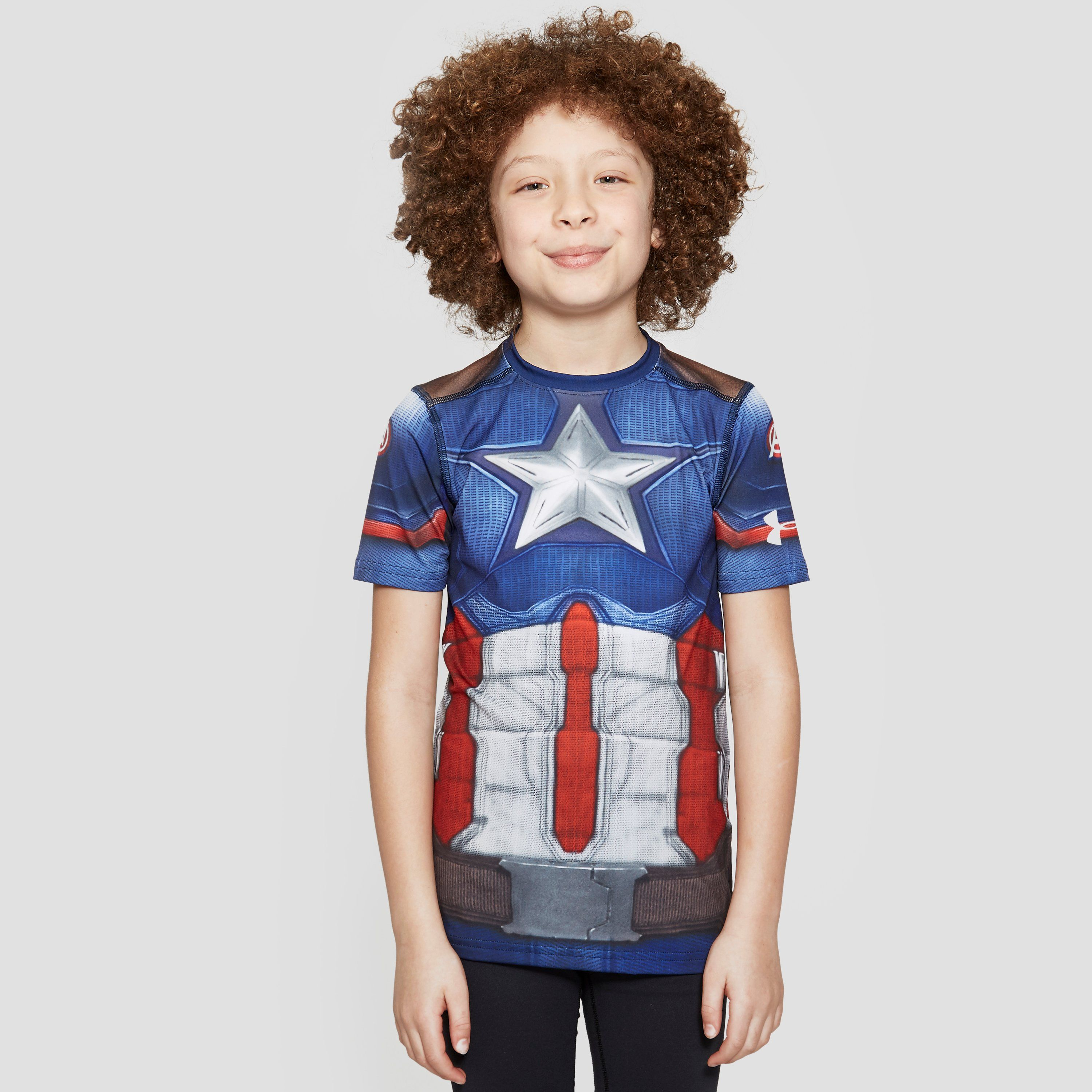 Under Armour Alter Ego Captain America Junior T-Shirt