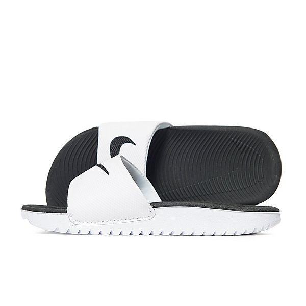 55b4cc7c85fc37 Nike Kawa Junior Slide Sandals