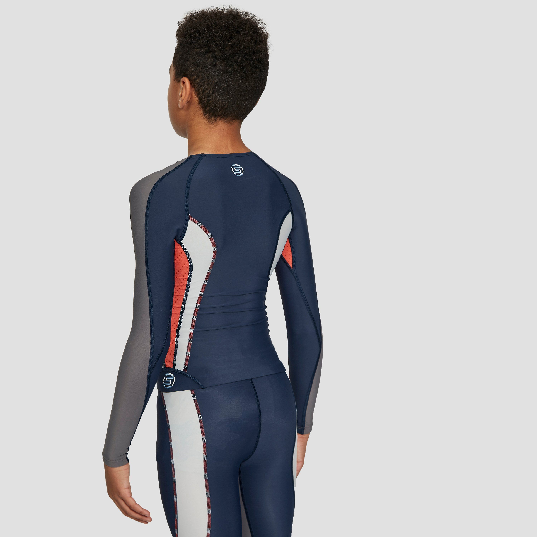 Skins Junior Long Sleeve Compression Top