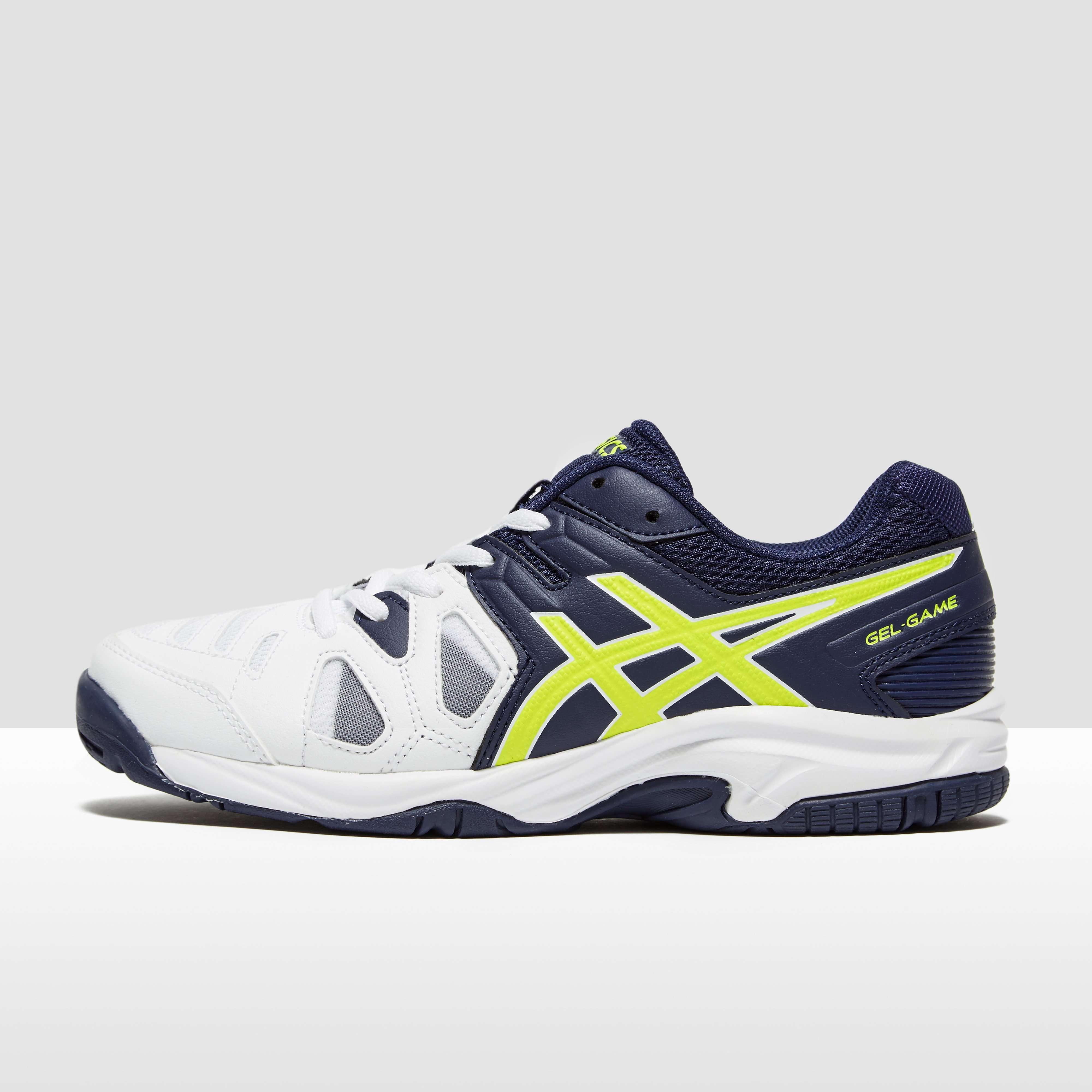 asics junior gel game tennis shoes