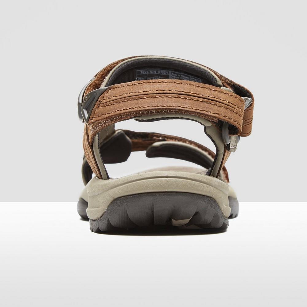 9a14e47c62f1c Teva Terra Fi Lite Leather Women s Walking Sandals Tan
