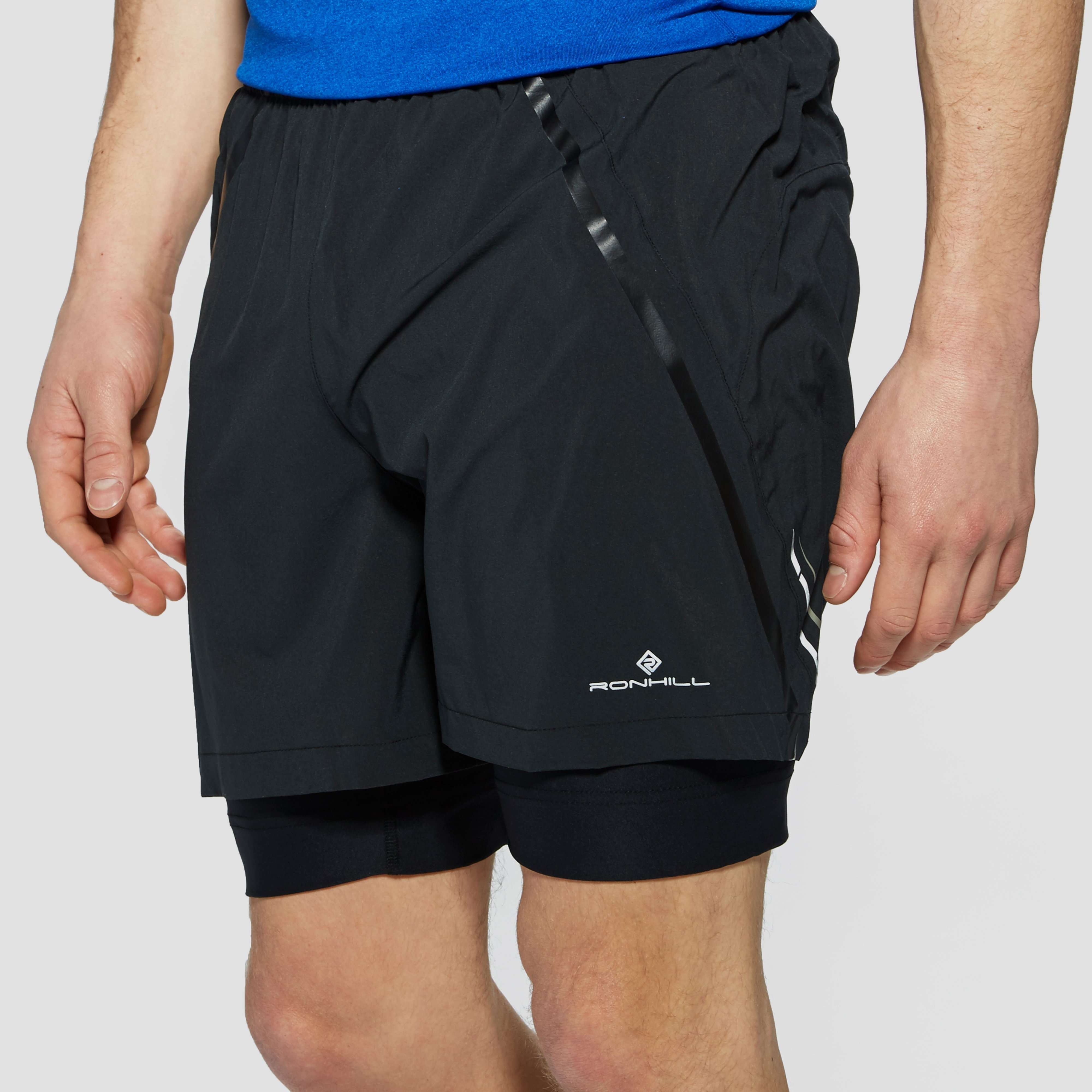 "Ronhill Advance 5"" Twin men's Running Shorts"