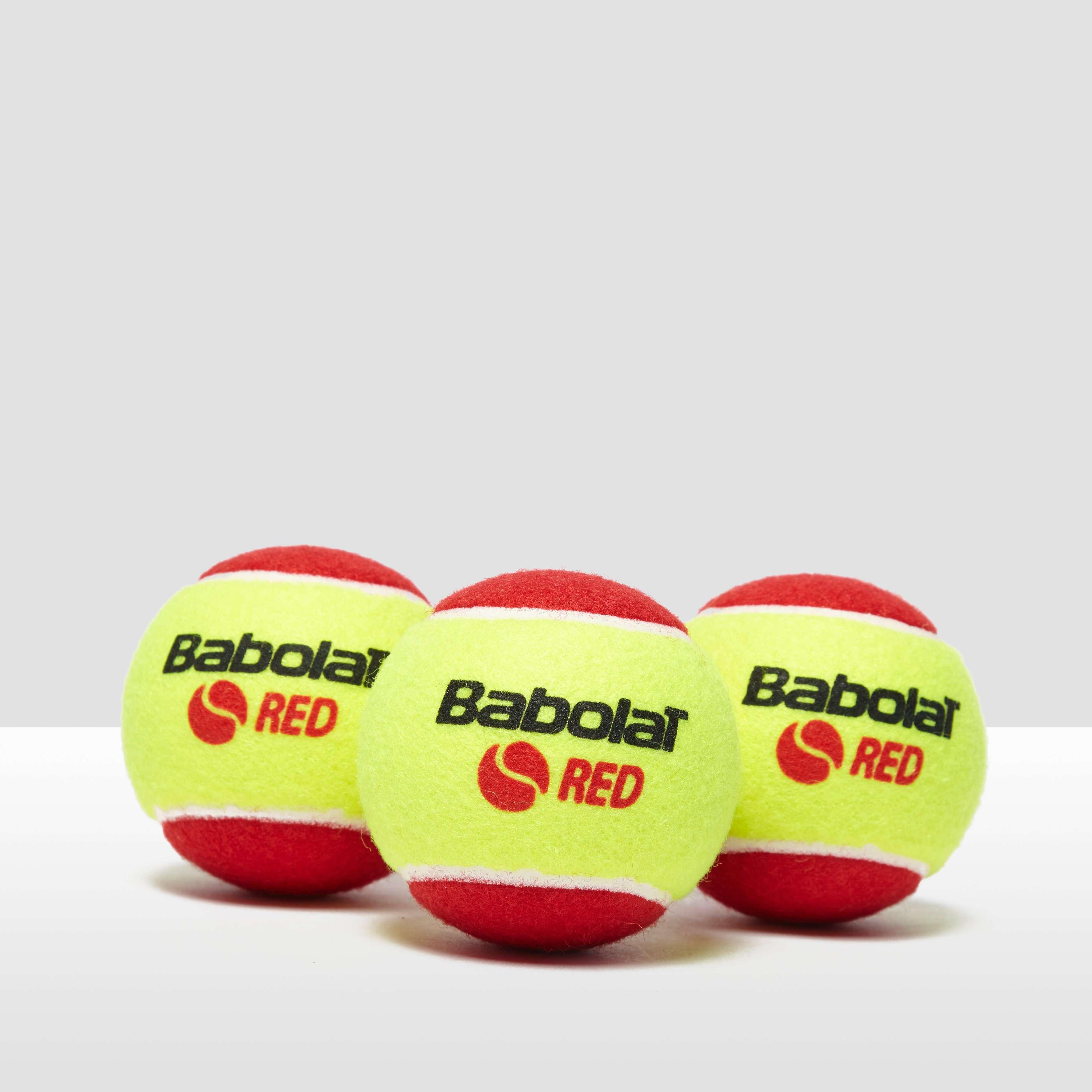 Babolat Red Felt x3 Tennis Balls