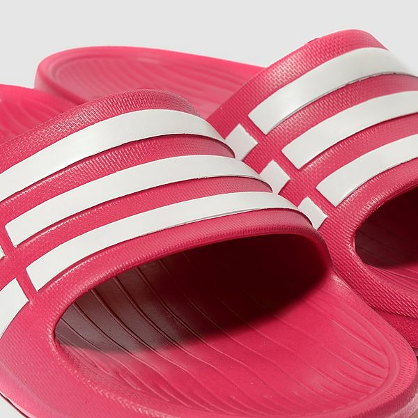 lowest price 0eee0 6d929 adidas Duramo Junior Slide Sandals
