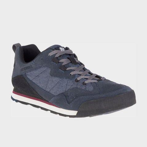 efe8384c569c2 Navy Merrell Men s Burnt Rock Tura Denim Low Shoes ...