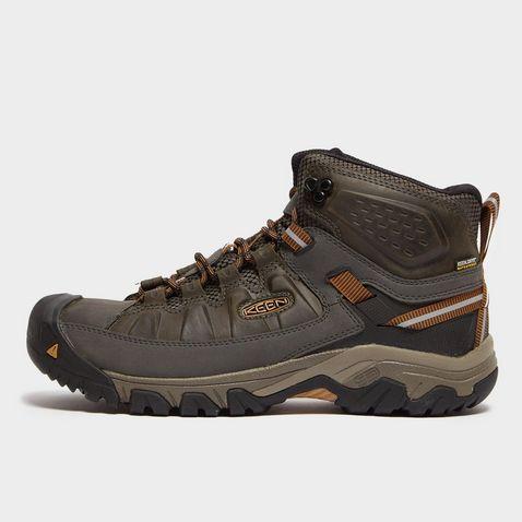 dc95599d51b19 BLACK OLIVE Keen Men's Targhee Mid III Waterproof Hiking Boots ...