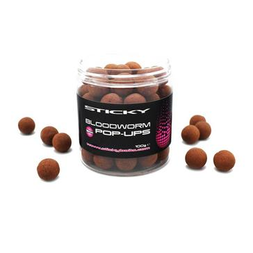 Brown Sticky Baits Bloodworm Pop-ups 16mm