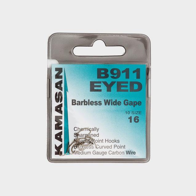 Blue Kamasan Size 16 B911 Eyed Barbless image 1