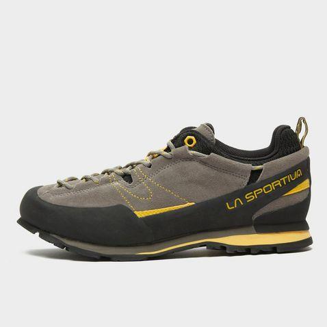 634701d2c61 Dk Grey-Yellow LA SPORTIVA Men's Boulder X Approach Shoes