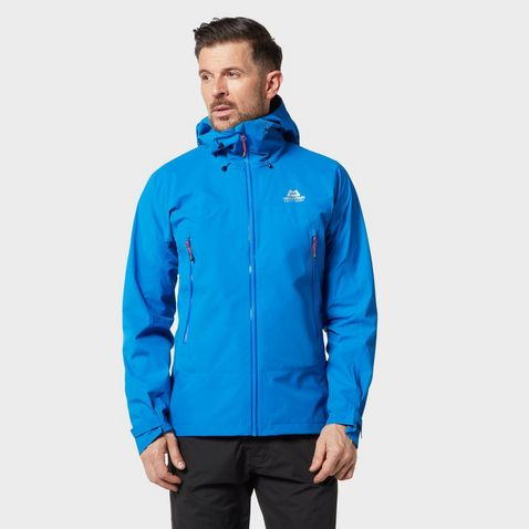 e132cbedd LAPIS BLUE MOUNTAIN EQUIPMENT Men's Garwhal GORE-TEX Waterproof Jacket