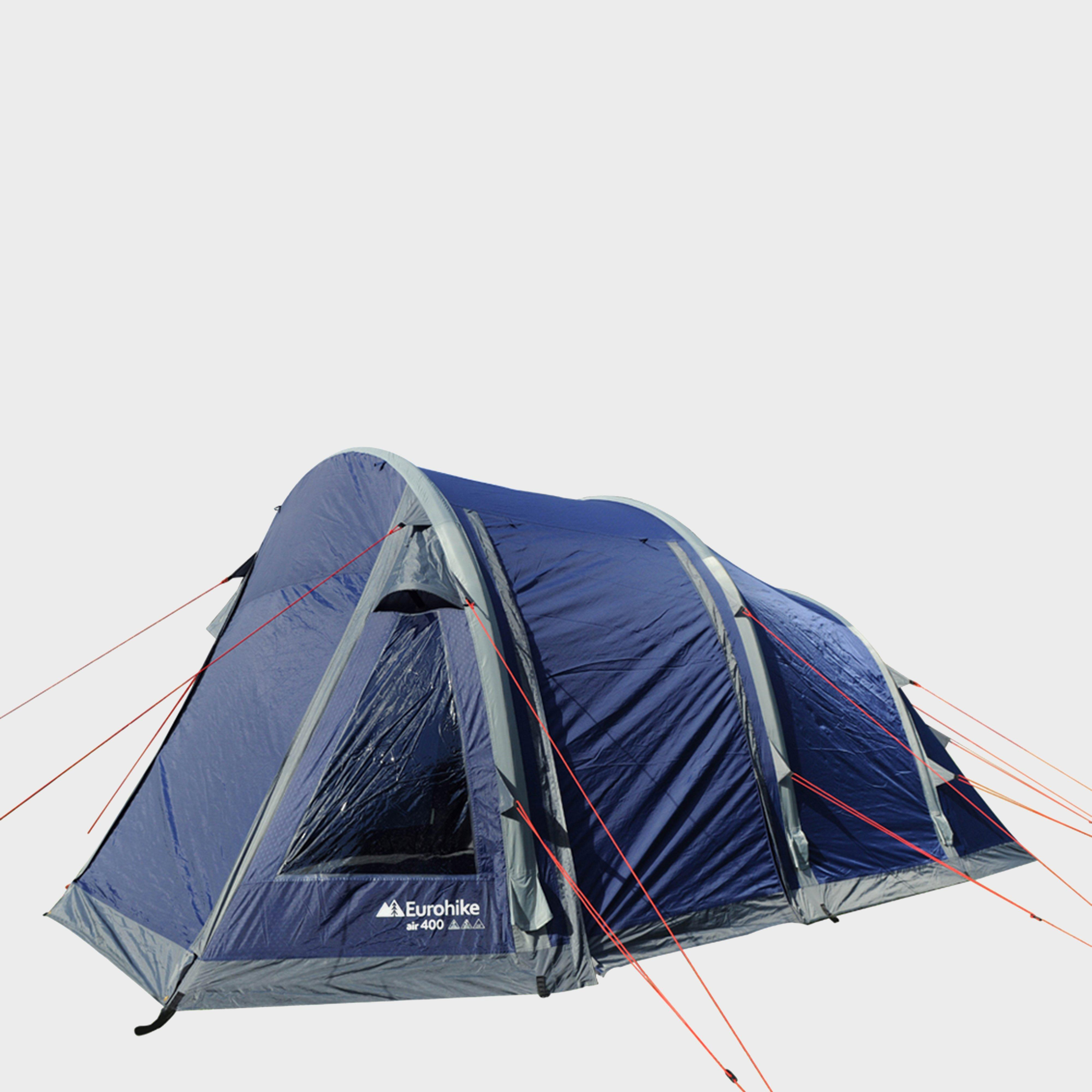 Eurohike Air 400 Inflatable Tent, Blue/NVY