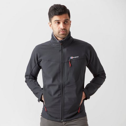 26498e7078ab3 Black Berghaus Men's Ghlas Softshell Jacket ...