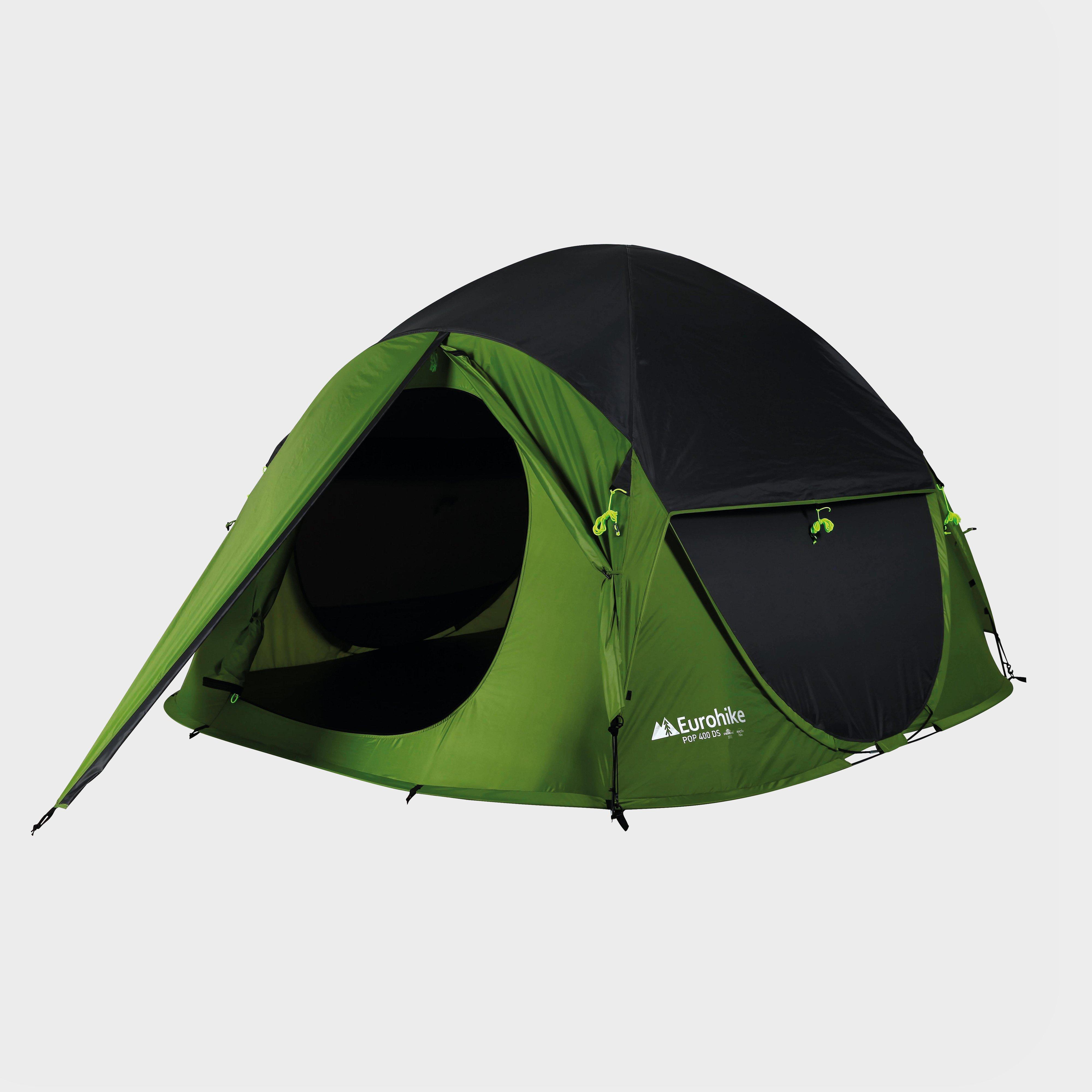 Eurohike Pop 400 DS Tent, Green