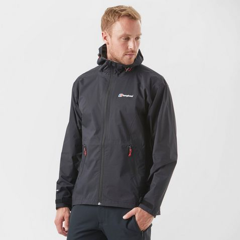 f0b6a58e97ad Black Berghaus Men's Stormcloud Waterproof Jacket ...