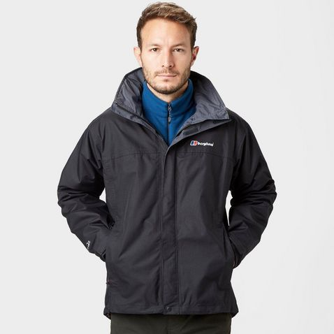 3fd9a114 Black Berghaus RG Alpha Men's Waterproof Jacket ...