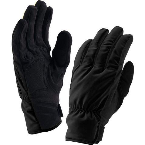 1ee790173 Black SEALSKINZ Men's Brecon Waterproof Cycling Gloves ...