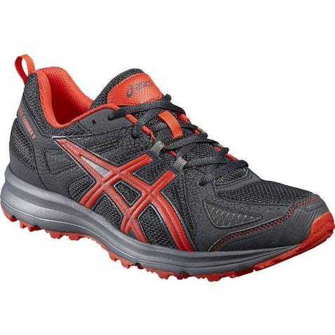 eb5538f502d Black-Red ASICS Gel-Trail Tambora 5 Men s Trail Running Shoes ...