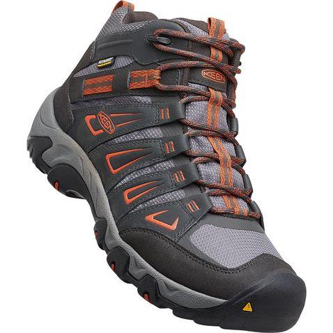 8212e1453c8e RAVEN-ORANGE Keen Men s Oakridge Mid WP Boots