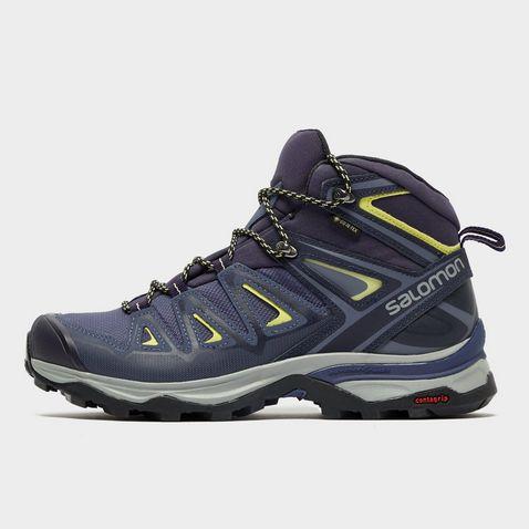 7bded1e0d8f05 CROWN BLUE Salomon X Ultra Mid 3 GTX® Women's Hiking Boot ...