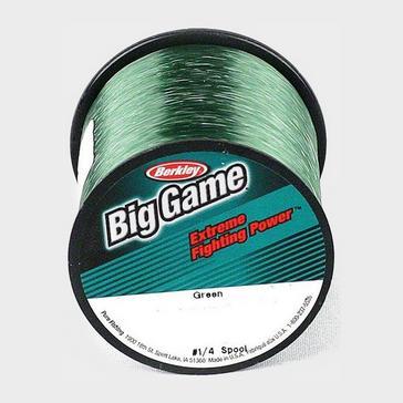Green Pure Fishing Big Game Green Bulk Spool (12lb)