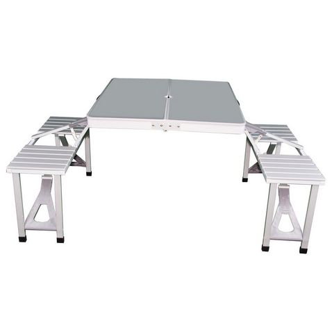 265903b76be Folding Aluminium Picnic Table - GO Outdoors