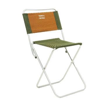 Green Shakespeare Folding Backrest Stool