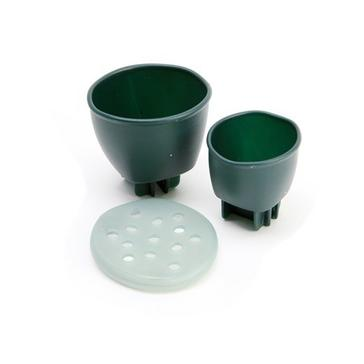 Green Middy Slide Cupps 2 Piece