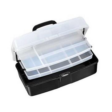 Black FLADEN Two-Tray Cantilever Box (Large)